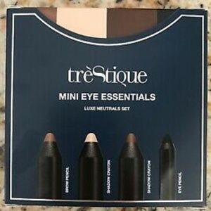 New trèStique Mini Eye Essentials Luxe Neutral Set